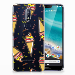 Nokia 7.1 Siliconen Case Icecream