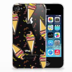 Apple iPhone 4 | 4s Siliconen Case Icecream
