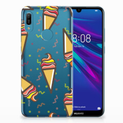 Huawei Y6 2019 | Y6 Pro 2019 Siliconen Case Icecream