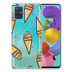 Samsung Galaxy A51 Siliconen Case Icecream