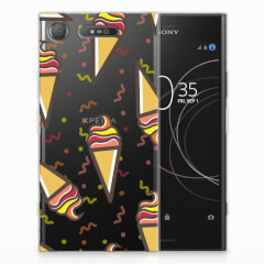 Sony Xperia XZ1 Siliconen Case Icecream