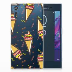 Sony Xperia XZs | XZ Siliconen Case Icecream
