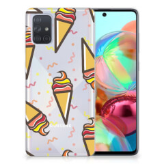 Samsung Galaxy A71 Siliconen Case Icecream