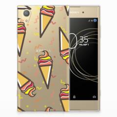 Sony Xperia XA1 Plus Siliconen Case Icecream