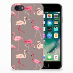 iPhone SE (2020) | 7/8 TPU Hoesje Flamingo
