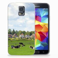 TPU Hoesje Samsung Galaxy S5 met eigen foto