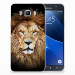 Samsung Galaxy J7 2016 TPU Hoesje Leeuw