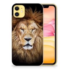 Apple iPhone 11 TPU Hoesje Leeuw