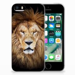 Apple iPhone SE   5S TPU Hoesje Leeuw