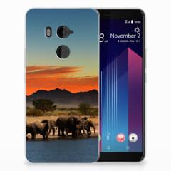 HTC U11 Plus TPU Hoesje Olifanten