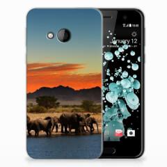 HTC U Play TPU Hoesje Olifanten