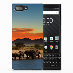 BlackBerry Key2 TPU Hoesje Olifanten