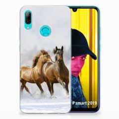 Huawei P Smart 2019 TPU Hoesje Paarden