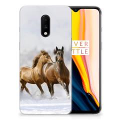 OnePlus 7 TPU Hoesje Paarden