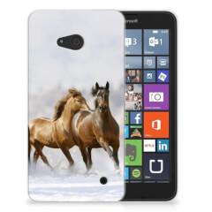 Microsoft Lumia 640 TPU Hoesje Paarden