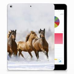 Apple iPad 9.7 2018 | 2017 Back Case Paarden