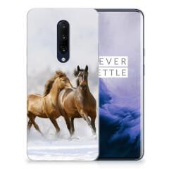 OnePlus 7 Pro TPU Hoesje Paarden