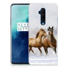 OnePlus 7T Pro TPU Hoesje Paarden