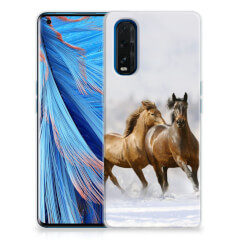 OPPO Find X2 TPU Hoesje Paarden