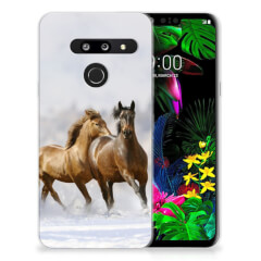 LG G8 Thinq TPU Hoesje Paarden