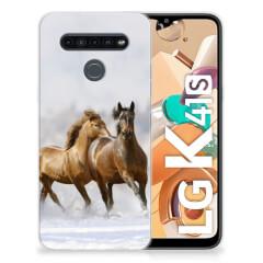 LG K41s TPU Hoesje Paarden