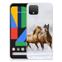 Google Pixel 4 TPU Hoesje Paarden