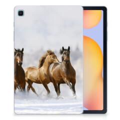 Samsung Galaxy Tab S6 Lite Back Case Paarden