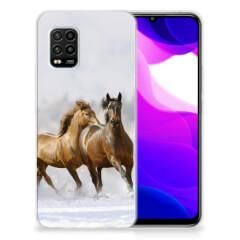 Xiaomi Mi 10 Lite TPU Hoesje Paarden