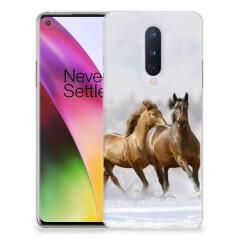OnePlus 8 TPU Hoesje Paarden