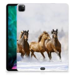 iPad Pro 12.9 (2020) Back Case Paarden