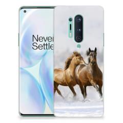 OnePlus 8 Pro TPU Hoesje Paarden