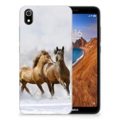 Xiaomi Redmi 7A TPU Hoesje Paarden