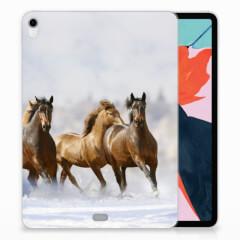 Apple iPad Pro 11 inch (2018) Back Case Paarden