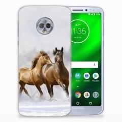 TPU Hoesje Motorola Moto G6 Plus met eigen foto