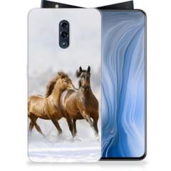 OPPO Reno TPU Hoesje Paarden