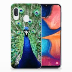 Samsung Galaxy A20e TPU Hoesje Pauw