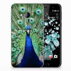 HTC U Play TPU Hoesje Pauw