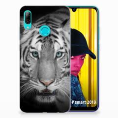Huawei P Smart 2019 TPU Hoesje Tijger