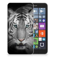 Microsoft Lumia 640 TPU Hoesje Tijger