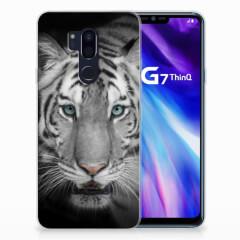 LG G7 Thinq TPU Hoesje Tijger