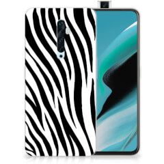 OPPO Reno2 Z TPU Hoesje Zebra