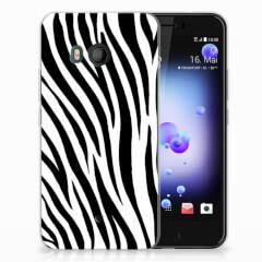 HTC U11 TPU Hoesje Zebra