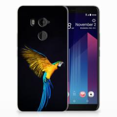 HTC U11 Plus TPU Hoesje Papegaai