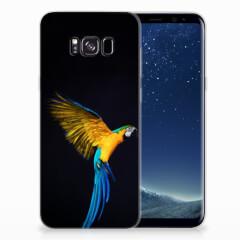 Samsung Galaxy S8 Plus TPU Hoesje Papegaai