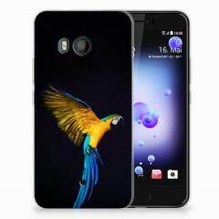 HTC U11 TPU Hoesje Papegaai