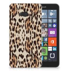 Microsoft Lumia 640 TPU Hoesje Leopard