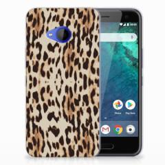 HTC U11 Life TPU Hoesje Leopard