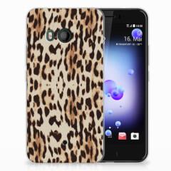 HTC U11 TPU Hoesje Leopard