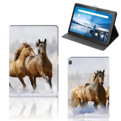 Lenovo Tablet M10 Flip Case Paarden