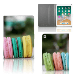Apple iPad 9.7 (2018) Tablet Stand Case Macarons